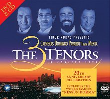 The 3 Tenors - CD + DVD - компилация