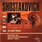Dmitri Shostakovich - Works for Cello - албум