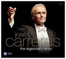 Jose Carreras - The Legendary Tenor - 3 CD -