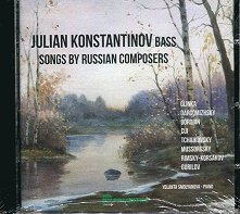 Julian Konstantinov Bass - Songs by russian composers -