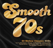 Smooth 70s - 60 Mellow Classics - 3 CDs - компилация