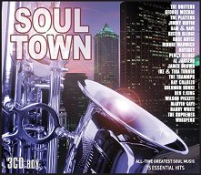 Soul Town: 75 Essential Hits - 3 CD Box - компилация