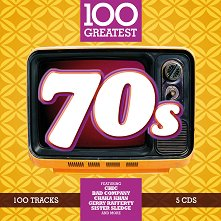 100 Greatest 70's - 5 CD - компилация